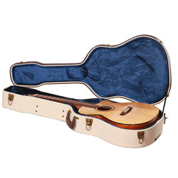 Gator Deluxe Wood Case for Dreadnought Acoustic Guitars - Journeyman Burlap