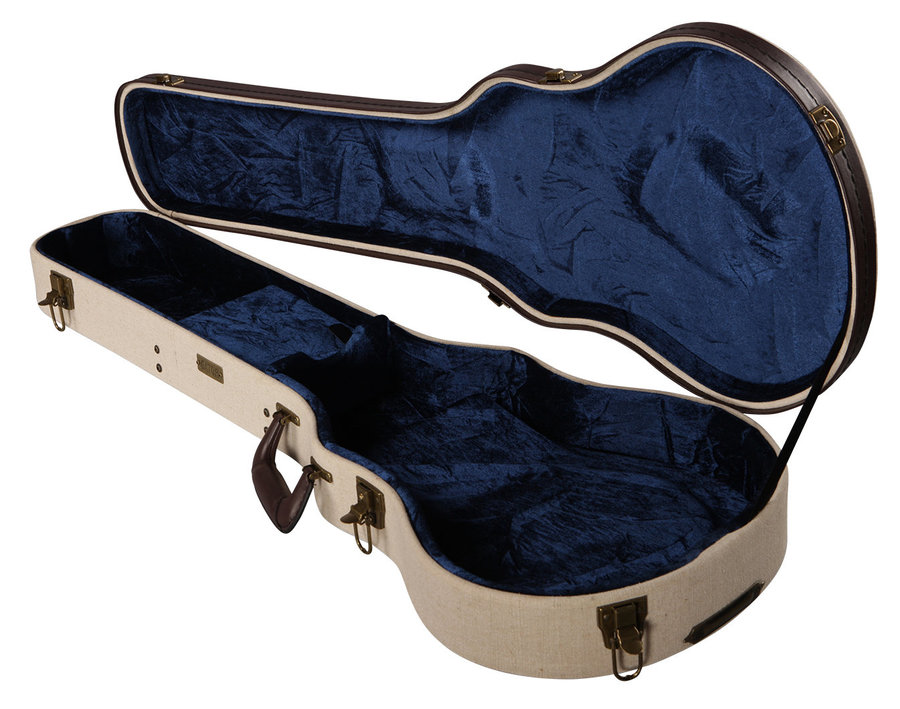 View larger image of Gator Deluxe Wood Case for Gibson Les Paul - Journeyman Burlap