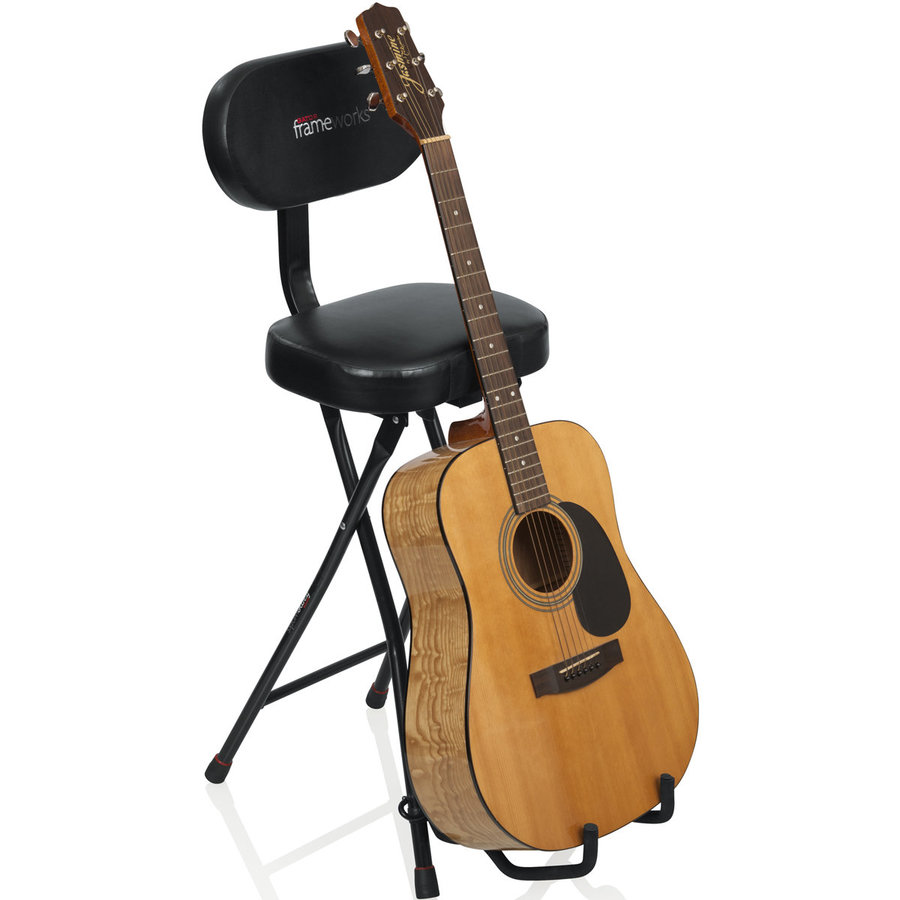 View larger image of Gator Frameworks Guitar Seat/Stand Combo