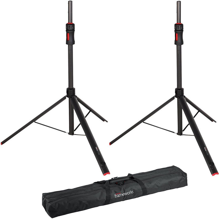 View larger image of Gator Frameworks ID Series Speaker Stands - Pair, with Bag