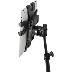 Gator iPad Tablet Tray with Microphone Stand Mount