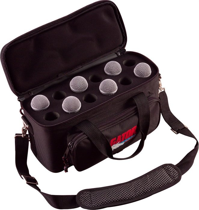 View larger image of Gator Padded Bag for 12 Microphones