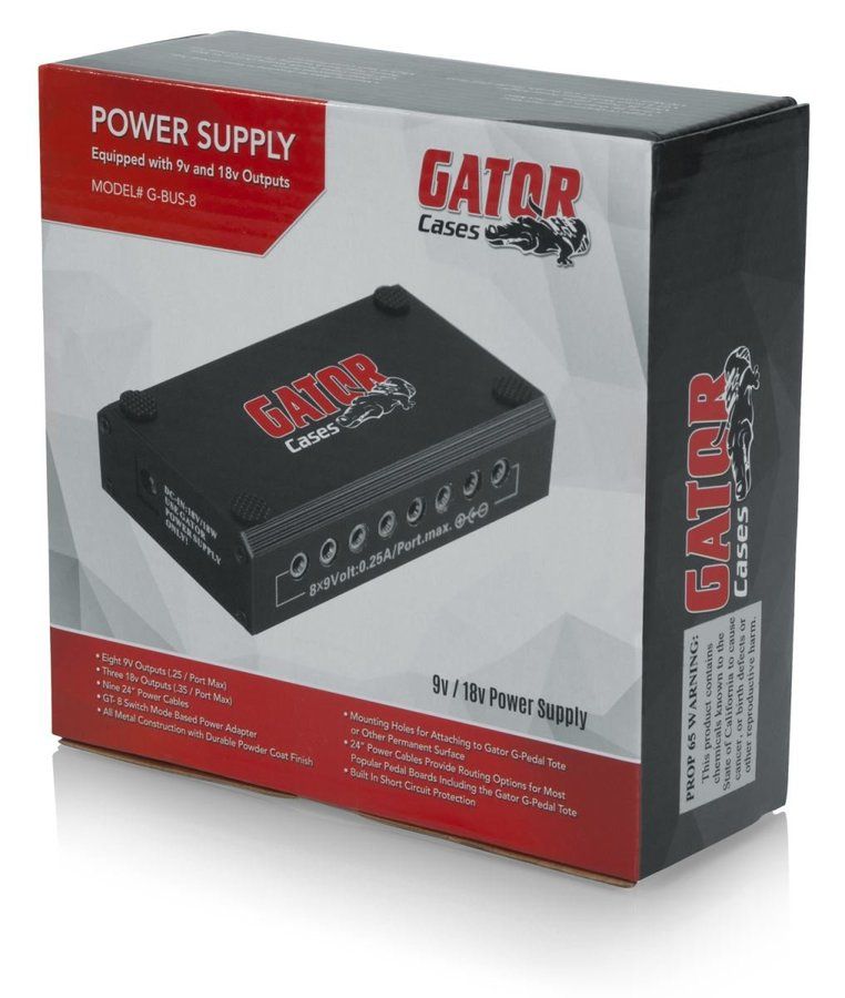 View larger image of Gator Pedal Board Power Supply