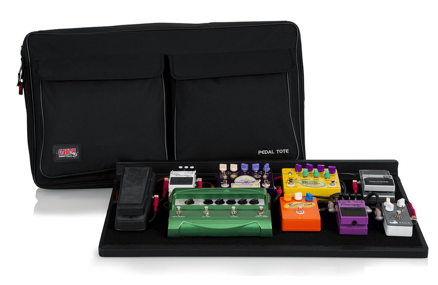 View larger image of Gator Pedal Board with Carry Bag, Power Supply - Pro Size