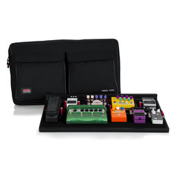 Gator Pedal Board with Carry Bag, Power Supply - Pro Size
