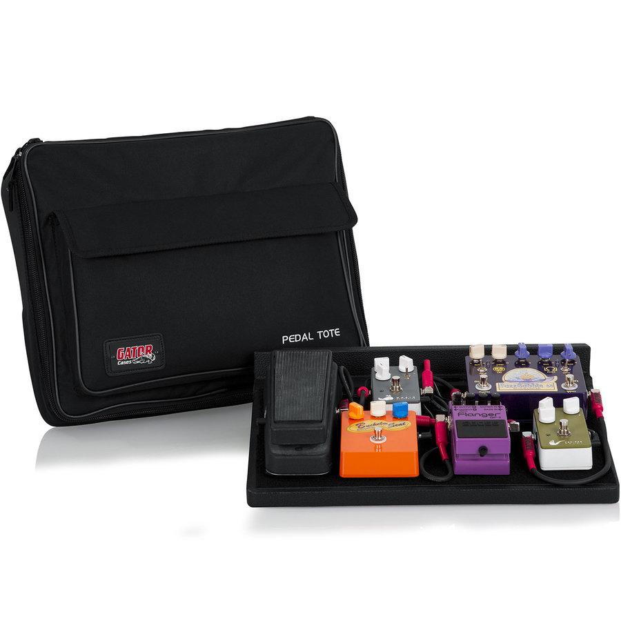 View larger image of Gator Pedal Tote Pedal Board - Carry Bag, Power Supply