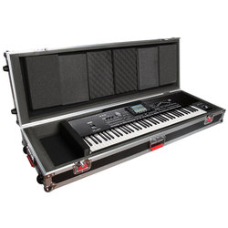 Gator Road Case with Wheels for 76 Note Keyboard