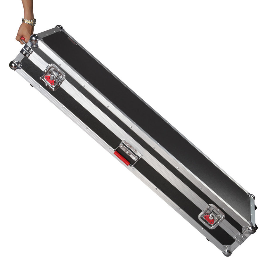 View larger image of Gator Road Case with Wheels For 88-Note Keyboards - Extra Large
