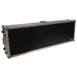Gator Road Case with Wheels for Slim 88-Note Keyboards