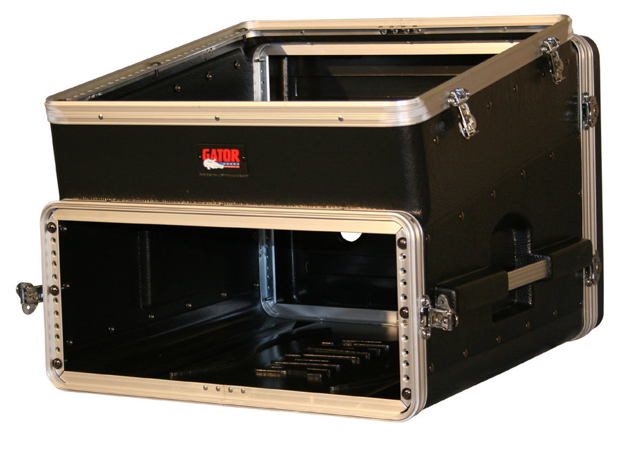 View larger image of Gator Slant Top Console Rack - 10T Top/4U Side