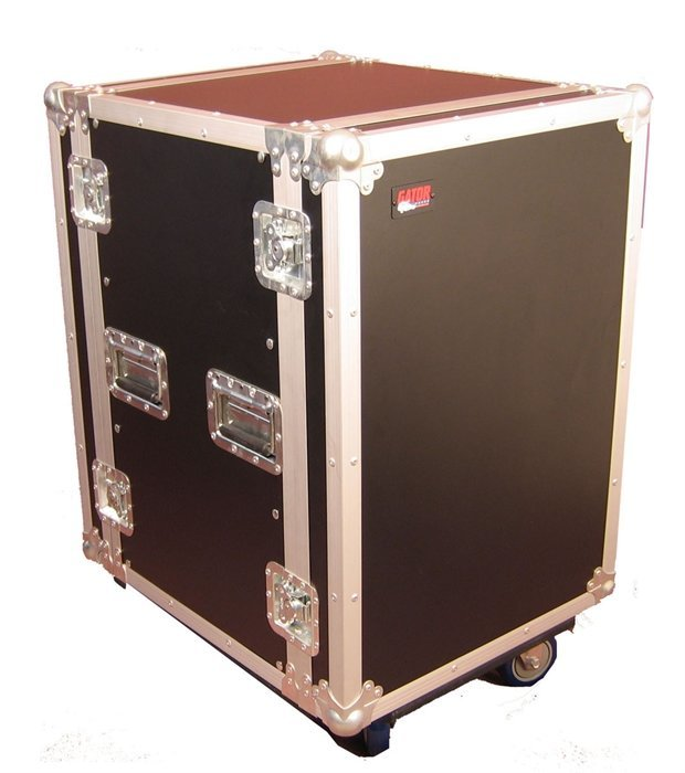 View larger image of Gator Standard Audio Road Rack Case with Casters - 14U/17 Deep