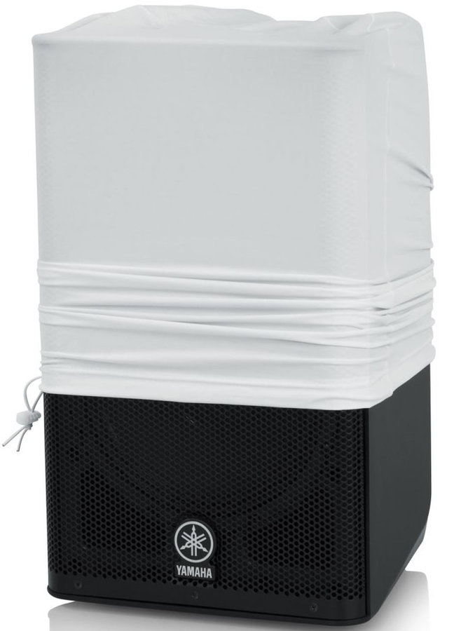 View larger image of Gator Stretchy Speaker Cover - 10-12, White