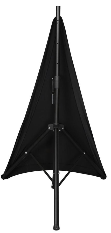 View larger image of Gator Stretchy Speaker Stand Cover - 1 Side, Black