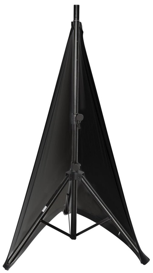 View larger image of Gator Stretchy Speaker Stand Cover - 2 Sided, Black