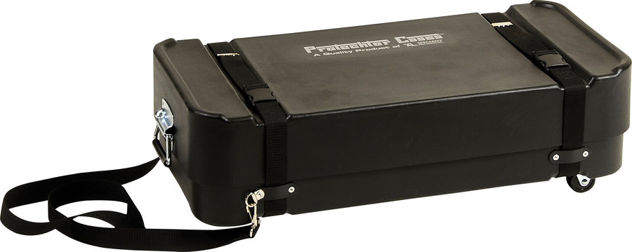 View larger image of Gator Super Compact Accessory Case with Wheels - 30 x 14 x 12, Ebony