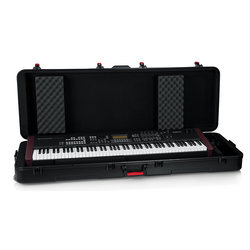 Gator TSA ATA Case with Wheels for Extra Deep 88 Note Keyboards