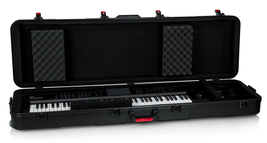 View larger image of Gator TSA ATA Case with Wheels for Slim 88-Note Keyboard
