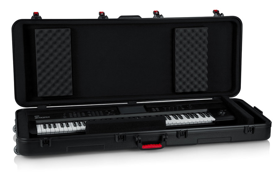 View larger image of Gator TSA ATA Molded Case with Wheels for 76 Note Keyboards