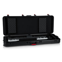 Gator TSA ATA Molded Case with Wheels for 76 Note Keyboards