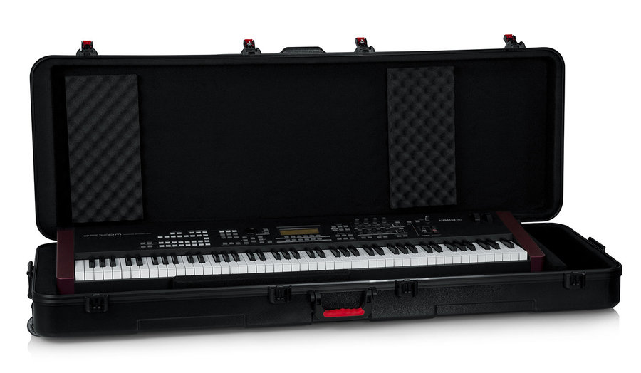 View larger image of Gator TSA ATA Molded Case with Wheels for 88 Note Keyboards