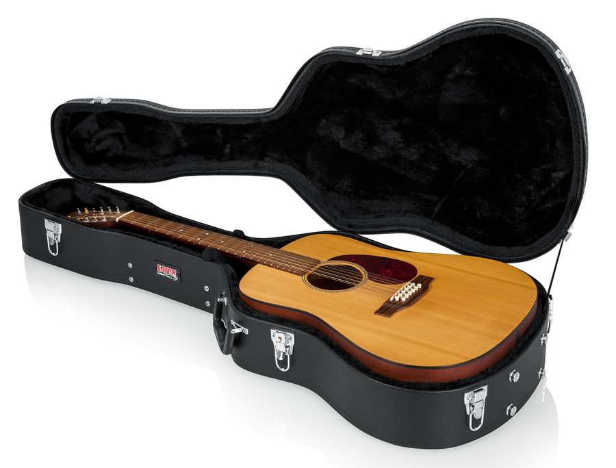 View larger image of Gator Wooden Guitar Case for 12-String Dreadnought Guitars