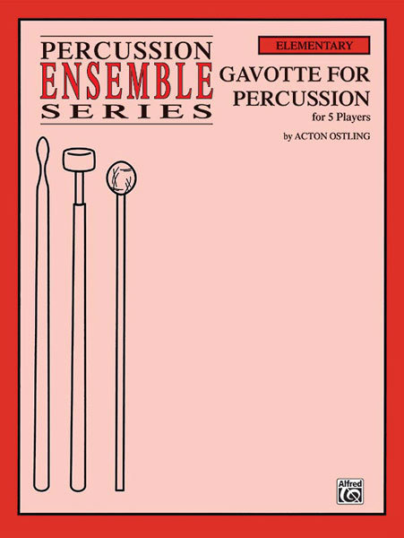View larger image of Gavotte for Percussion - (for 5 Players)