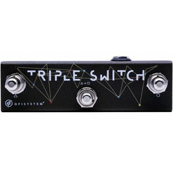 GFI System Triple Switch Pedal