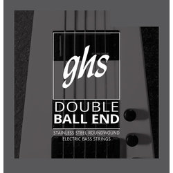 GHS 5610 Double Ball End Roundwound Stainless Steel Bass Guitar Strings - Extra Light 30-90