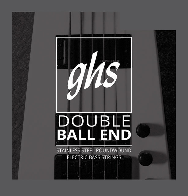 View larger image of GHS 5630 Double Ball End Roundwound Stainless Steel Bass Guitar Strings - Medium 45-106