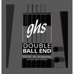 GHS 5630 Double Ball End Roundwound Stainless Steel Bass Guitar Strings - Medium 45-106