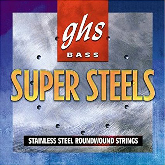 View larger image of GHS 5M-STB Super Steels Bass Guitar Strings