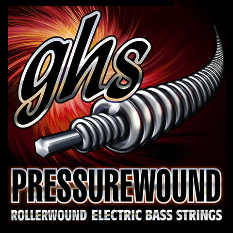 View larger image of GHS 7700 Pressurewound Flats Alloy 52 Bass Guitar Strings - Light 40-96, Short Scale