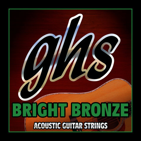 View larger image of GHS BB100 Bright Bronze 80/20 Copper Zinc 12-String Acoustic Guitar Strings - Medium 10-52