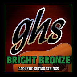 GHS BB80 Bright Bronze 80/20 Copper Zinc 12-String Acoustic Guitar Strings - Light 9-48
