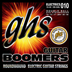 GHS DBGBL Double Ball End Boomers for Steinberger Systems Electric Guitar Strings - Extra Light 9-42