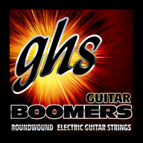 View larger image of GHS DYXL Boomers Dynamite Alloy Roundwound Electric Guitar Strings - Extra Light 10-46
