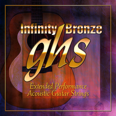 View larger image of GHS IB40M Infinity Bronze Coated 80/20 Copper Zinc Acoustic Guitar Strings - Medium 13-56