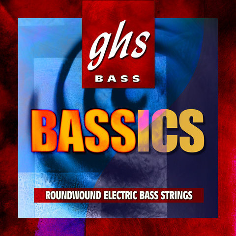 View larger image of GHS L6000 Bassics Bass Guitar Strings - Light 40-102, Standard Long Scale