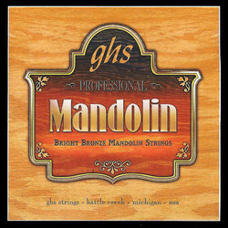 GHS PF270 Bright Bronze Loop End Mandolin Strings - 11-40
