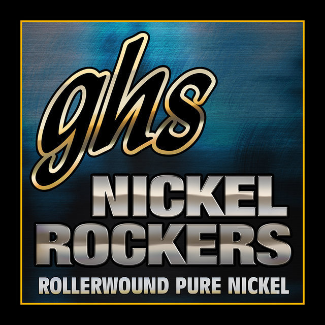 View larger image of GHS RRL Nickel Rockers Rollerwound Pure Nickel Electric Guitar Strings - Light 10-46