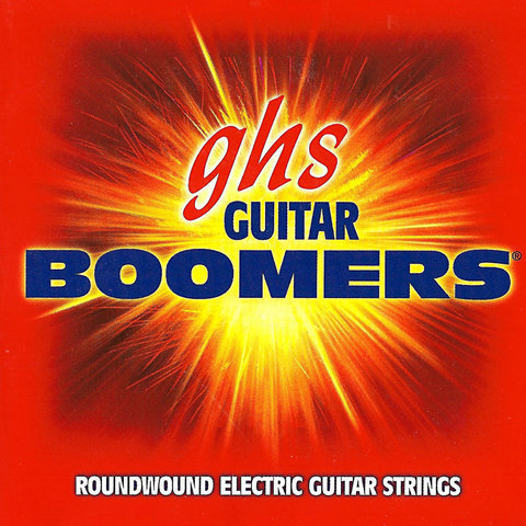 View larger image of GHS TGBXL Reinforced Boomers Electric Guitar Strings - Extra Light 9-42