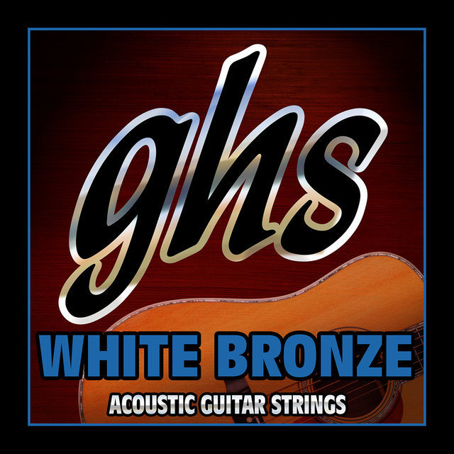 View larger image of GHS WB12L White Bronze Allot 52 12-String Acoustic Guitar Strings - Light 9-48