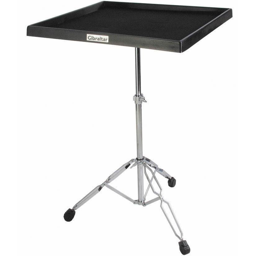 View larger image of Gibraltar 7615 Percussion Table on Double-Braced Stand
