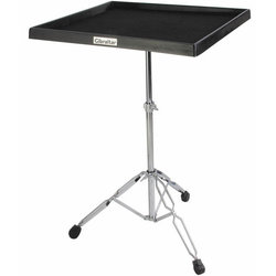 Gibraltar 7615 Percussion Table on Double-Braced Stand