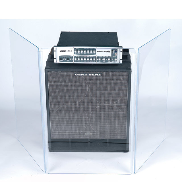 View larger image of Gibraltar GAS-3X3 Sound Shield for Combo Amp 3x6 3-Panel