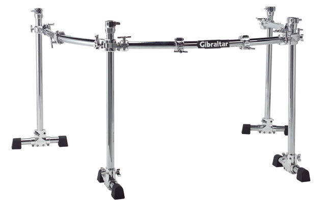 View larger image of Gibraltar GCS-450C 4-Post Curved Rack with Wings