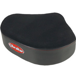 Gibraltar Oversized Motorcycle Style Seat Top for Drum Throne