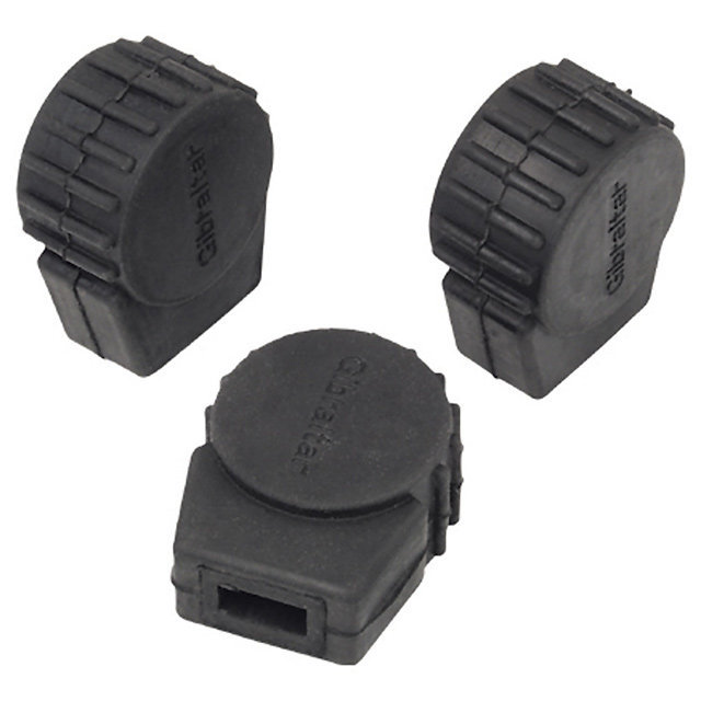 View larger image of Gibraltar SC-PC10 Round Rubber Feet - Small, 3 Pack