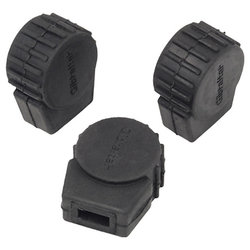 Gibraltar SC-PC10 Round Rubber Feet - Small, 3 Pack