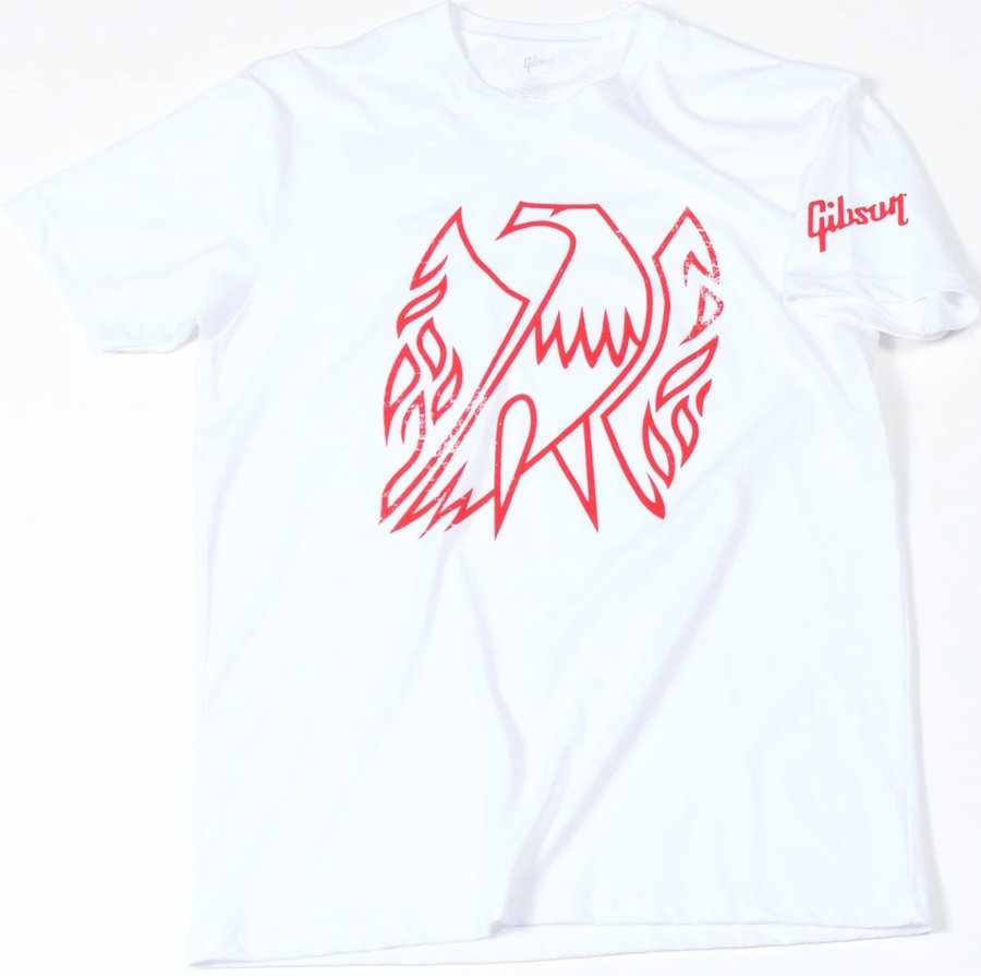 View larger image of Gibson Firebird T-Shirt - White, Medium